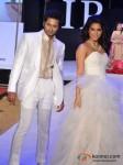 Bhoop Yaduvanshi And Madhurima Tuli Walks for Riyaz Gangji at India Resort Fashion Week 2012