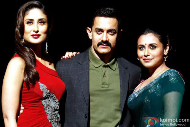 Kareena Kapoor, Aamir Khan and Rani Mukerji from Talaash Movie