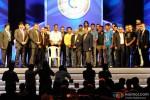 Cyrus Broacha, Mahendra Singh Dhoni, Sachin Tendulkar, Harbhajan Singh, Ishant Sharma, N Srinivasan, Zaheer Khan, Pragyan Ojha, Cheteshwar Pujara At The Cricket Club Of India celebrates 75 years