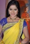 Deepika Singh on the sets of Star Parivar