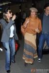 Gauri Khan, Parmeshwar Godrej and Arun Nayar spotted at the Airport