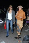 Gauri Khan and Parmeshwar Godrej spotted at the Airport Pic 1