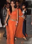 Geeta Basra Attend Rohit Shetty's Sister's Wedding Pic 1