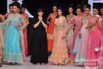 Genelia Deshmukh walks for Neeta Lulla at India Resort Fashion Week 2012 Pic 10