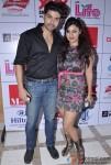Gurmeet Choudhary, Debina Choudhary At Aiysha Saagar's album launch