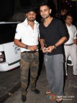 Harbhajan Singh And Virat Kohli At Special Screening Of Son Of Sardaar