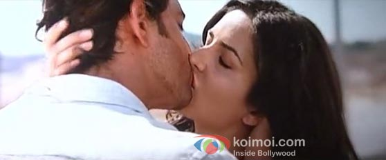 Katrina kaif in kiss