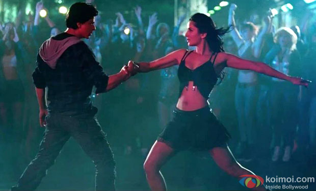 Shah Rukh Khan and Katrina Kaif in a still from Jab Tak Hai Jaan Movie