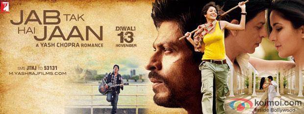 Jab Tak Hai Jaan Movie Poster Wallpaper