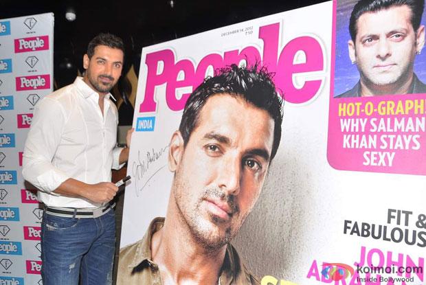 John Abraham adjudged 'Sexiest Man Alive 2012' by 'People Magazine'