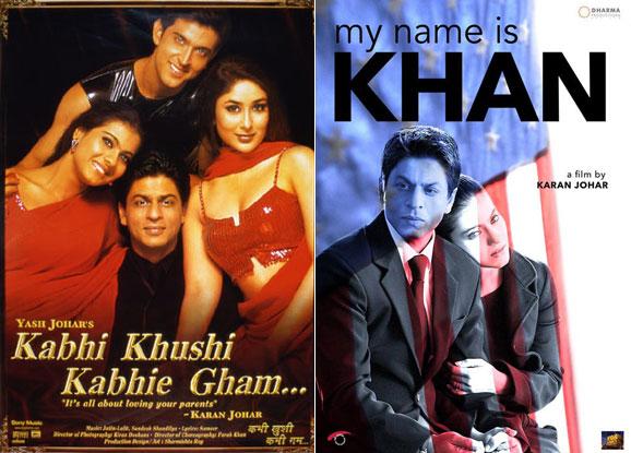 Kabhi Khushi Kabhie Gham... and My Name Is Khan Movie Posters