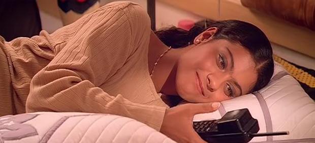 Kajol in a still from Gupt Movie