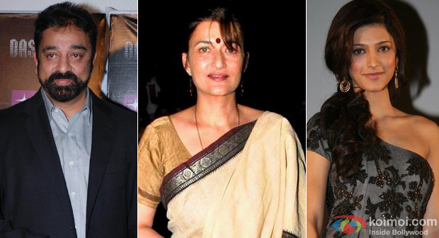 Kamal Hassan, Sarika and Shruti Hassan
