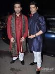 Karan Johar And Manish Malhotra At Ekta Kapoor's Diwali Bash