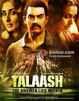 Kareena Kapoor, Aamir Khan And Rani Mukerji In Talaash Movie Poster