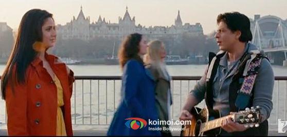 Katrina Kaif And Shah Rukh Khan In Jab Tak Hai Jaan Movie Stills
