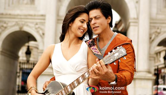 Katrina Kaif And Shah Rukh Khan In Jab Tak Jaan Movie Stills