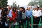 Katrina Kaif, Shah Rukh Khan And Anushka Sharma Promoting Jab Tak Hai Jaan Movie In Jalandhar