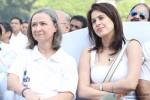 Kia Scherr and Amrita Saluja at Global Peace Initiative Walkathon
