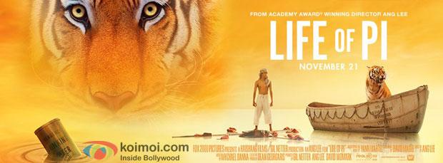 Life Of Pi Movie Poster Wallapaper