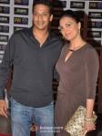 Mahesh Bhupathi And Lara Dutta At Premiere of Talaash Movie