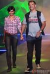 Mandira Bedi And Raj Kaushal walk the ramp at Future Lifestyle Fashion