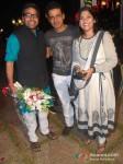 Manoj Bajpai At Renuka Shahane Hosted A Surprise Birthday Party For Husband Ashutosh Rana