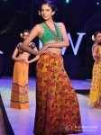 Model In Anupama Dayal's show at India Resort Fashion Week 2012 Pic 5