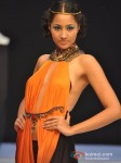 Model Walks for Sounia Gohil's Show at India Resort Fashion Week 2012 Pic 2