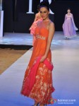 Model walks for Neeta Lulla at India Resort Fashion Week 2012 Pic 1