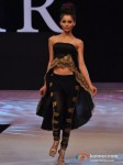 Model walks for Neeta Lulla at India Resort Fashion Week 2012 Pic 9