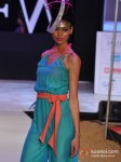Model walks for Sushma Patel at India Resort Fashion Week 2012 Pic 6