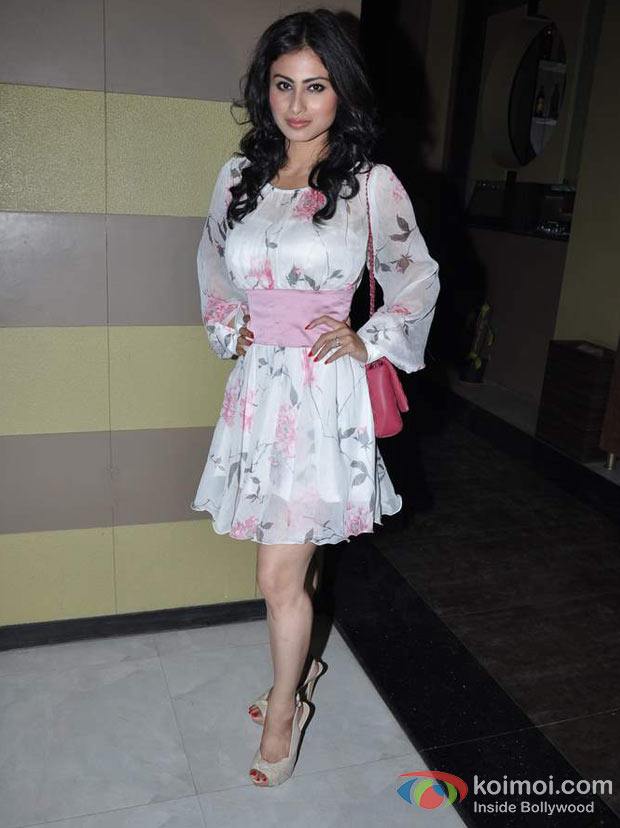 Mouni Roy At Success Bash of Life Ok Channel's Show 'Junoon