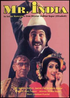 Mr India Movie Poster