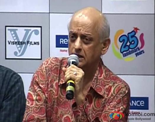 Mukesh Bhatt At Raaz 3 DVD Launch Event