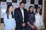 Namrata Dutt, Sanjay Dutt And Priya Dutt At Nargis Dutt Memorial Press Meet Pic 2