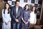 Namrata Dutt, Sanjay Dutt And Priya Dutt At Nargis Dutt Memorial Press Meet Pic 1
