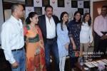 Owen Roncon, Manyata Dutt, Sanjay Dutt, Namrata Dutt And Priya Dutt At Nargis Dutt Memorial Press Meet Pic 2