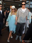 Paris Hilton arrives in Goa for India Resort Fashion Week 2012 Pic 1