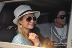 Paris Hilton arrives in Goa for India Resort Fashion Week 2012 pic 5