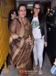Poonam Sinha And Sonakshi Sinha In Son Of Sardaar Special Screening at Ketnav