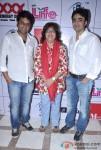 Rahat-Kazmi, Zeba Sajid, Furqan Merchant At Aiysha Saagar's album launch