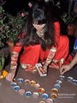 Rakhi Sawant Celebrates Diwali With Family Pic 3