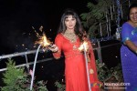 Rakhi Sawant Celebrates Diwali With Family Pic 2