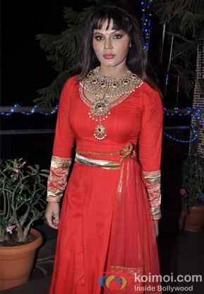 Rakhi Sawant at an event
