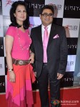 Ritu Beri And Pradeep Hirani At Kimaya's New Festivel Collection Launch