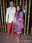 Rohit Roy And Manasi Joshi Roy At Ekta Kapoor's Diwali Bash