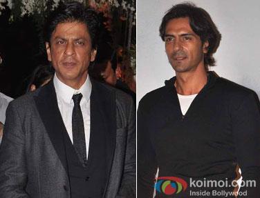 Shah Rukh Khan and Arjun Rampal
