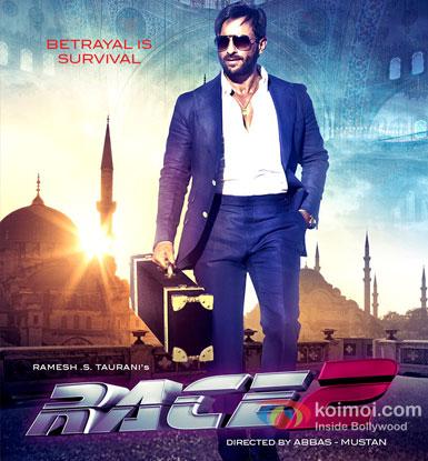 Saif Ali Khan From Race 2 Movie
