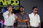 Salman, Remo D'souza, Dharmesh Yelande At Trailer Launch of Any Body Can Dance
